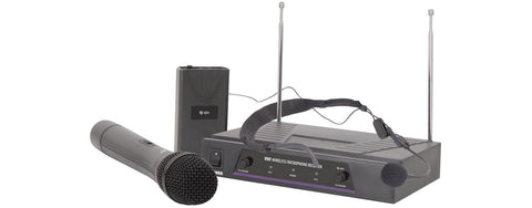 VHF handheld Plus neck-band wireless system 174.1 Plus 175.0MHz
