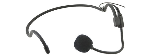 Heavy duty cardioid neck-band microphone