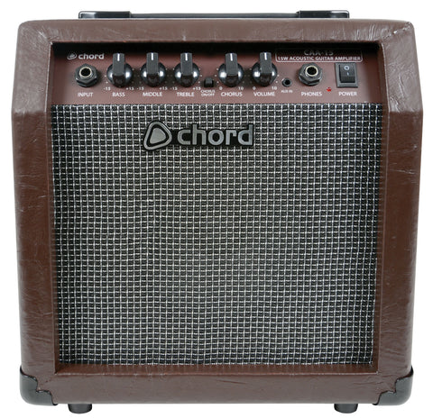 CAA 15 Acoustic Guitar Amplifier