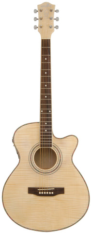 N5FM Native Flame Maple electro acoustic guitar