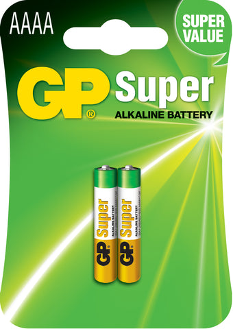 Alkaline Battery AAAA x 2 1.5V