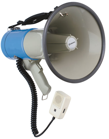 Megaphone with siren 25W max