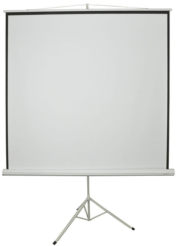 84 Inch 1 to 1 Manual Tripod Projector Screen