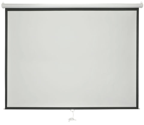 86 Inch 4 to 3 Manual Projector Screen