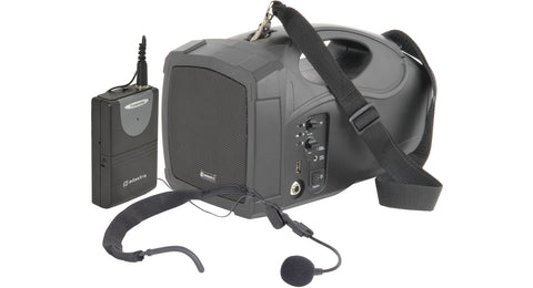 H25 handheld PA with head-mic