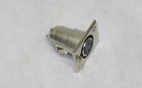 XLR Female Chassis Mount Socket 3 Pin