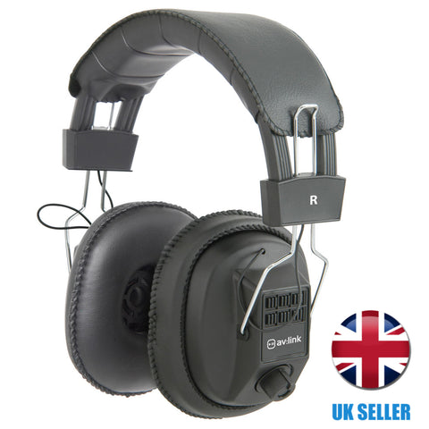 Mono Stereo Switchable Over Ear Headphones with Volume Control