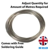Professional Fine Gauge Electronics Solder Wire Loose Sold by the Metre