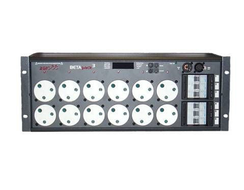 Zero 88 Betapack 3 6x10A DMX Dimmer Pack 12x15A Outlet 4U