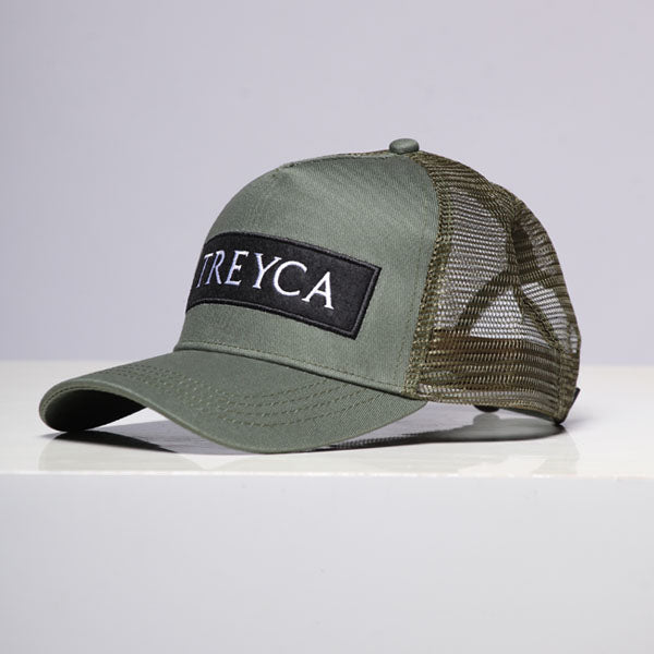 Treyca Trucker Cap - Green