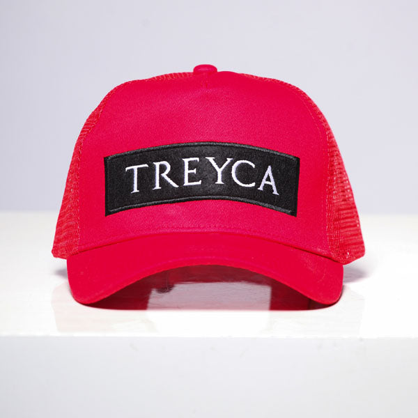 Treyca Trucker Cap - Red