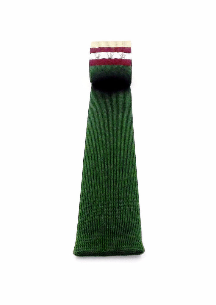 Accessory -  Layerd Knit Tie