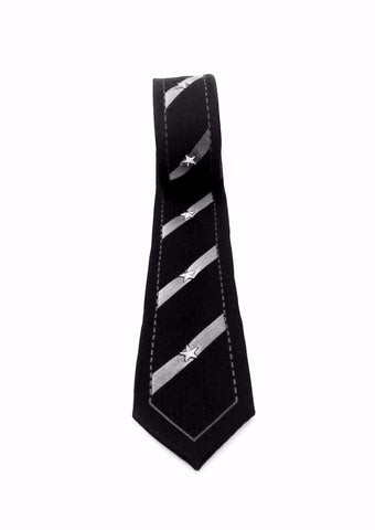 Accessory - Striped Stud Tie