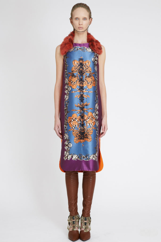 Dress - Heather Silk Mirror Print