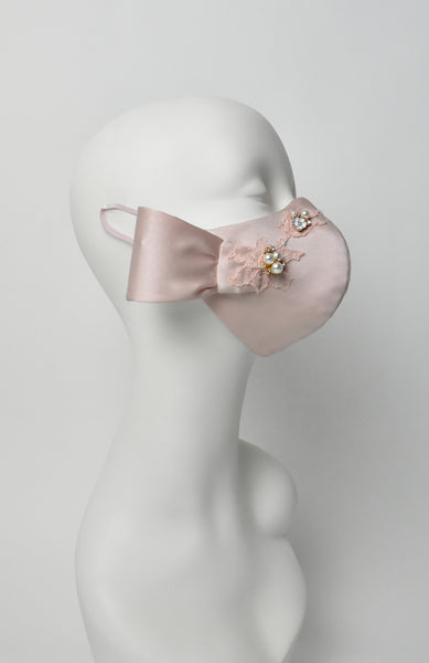 Ballet-Silk satin couture facewear