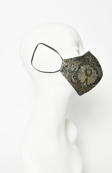 Floret -Brocade couture facewear