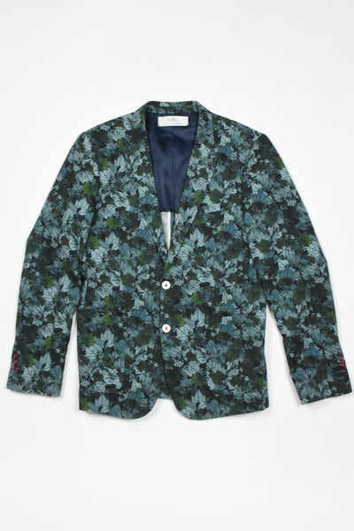 Men camouflage fitted jacket