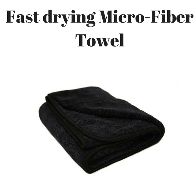 Fast drying, Frizz fighting Microfiber towel