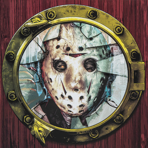 Friday The 13th Part VIII: Jason Takes Manhattan Vinyl Record (Waxwork)