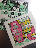 "Modster Squad ""Comprehensive"" 5"" x 5"" Mini Screen-Print"