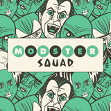 "Modster Squad ""Moon Tan"" 5"" x 5"" Mini Screen-Print"