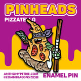 Pizzatello Enamel Pin