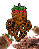 Strawberry Choctopus Enamel Pin