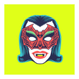 "Maskerade - Vampiress 6"" x 6"" Mini Screen-Print"
