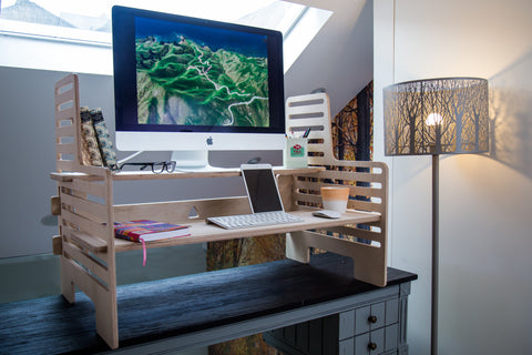 UpStanding Desk: The Double-Wide