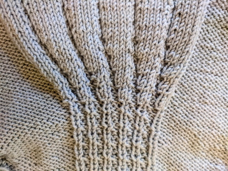 Cables On the Billy's Girl Sweater