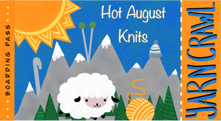Hot August Knits 2021 Logo