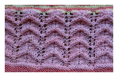 Knitted Lace Pattern