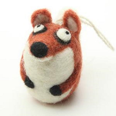 Pre-made Felted Ornaments from Woolbuddy