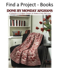 Find a project in a knitting book