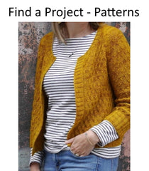 Find a project with a knitting pattern