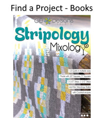 Find a project in a quilting book