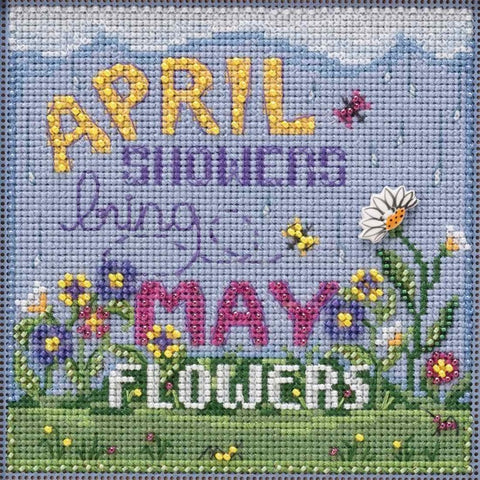 Spring Series - Mill Hill Buttons & Beads