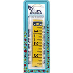 Big Yellow Tape Measure