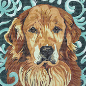 Golden Retriever (Full Face)