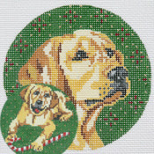Yellow Lab Ornaments