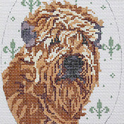 Wheaten Terrier Oval