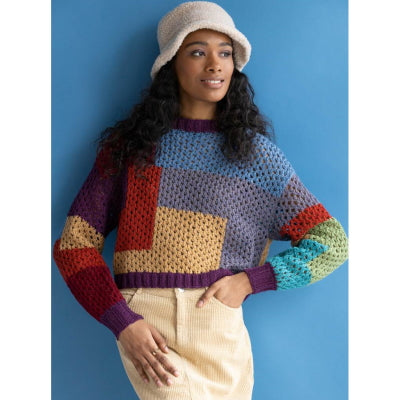 Becky Sweater Kit in Walkabout Organic Shetland Wool