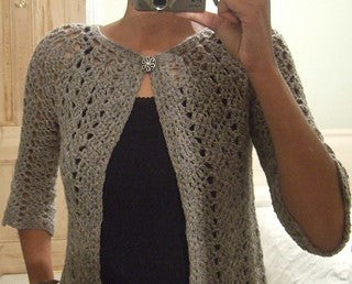 Chevron Lace Cardigan Pattern