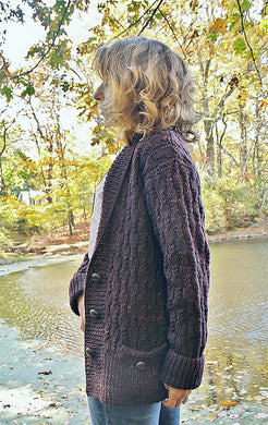 Chocolate Stout Cardigan