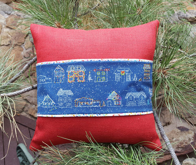 Burlap Interchangeable Pillow Kit