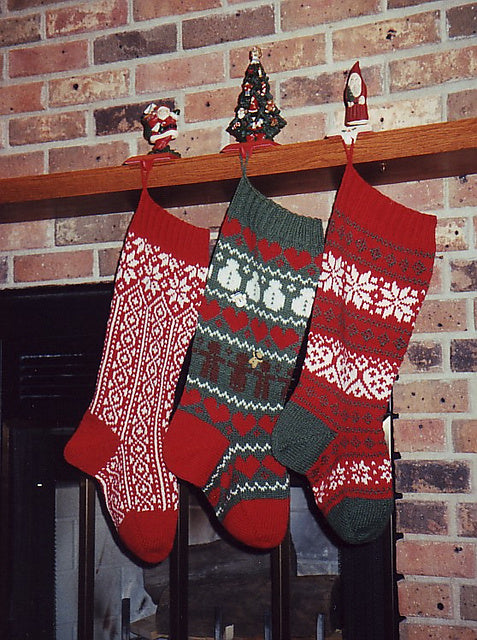 Christmas Stocking Trio 1 AH 2003
