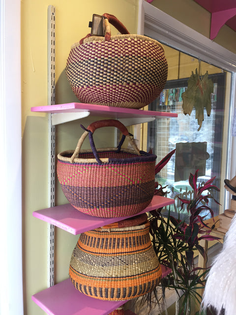 African Reed Baskets