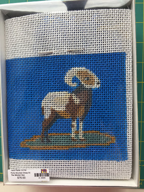Rocky Mountain Sheep Needlepoint Kit