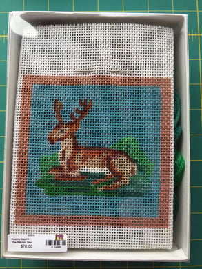 Resting Stag Needlepoint Kit