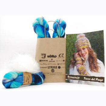 Joan Hat and Wrist Warmers Kit